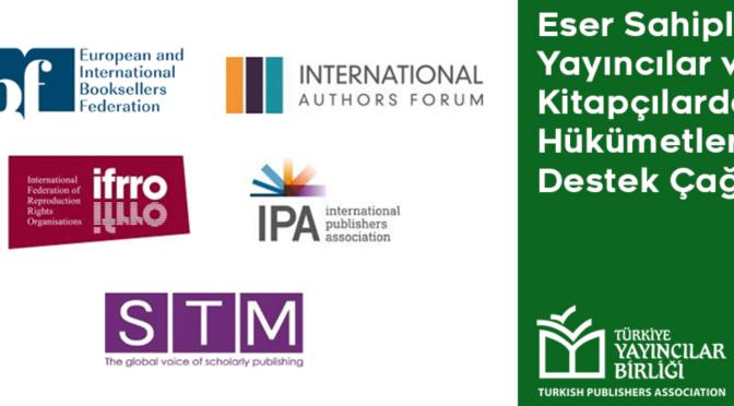 Küresel kitap endüstrisi temsilcilerinden ortak bildiri