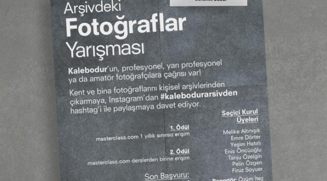 """Kalebodur'dan """"Arşivdeki Fotoğraflar"""" yarışması"""
