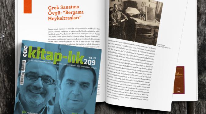 kitap-lık dergisinin Mayıs – Haziran sayısı dijital erişime açıldı