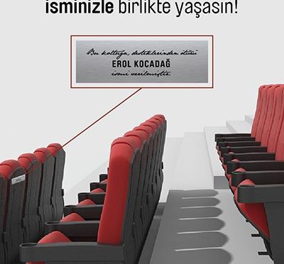 """Kadıköy Sineması'ndan """"Koltuk Destek Kampanyası"""""""