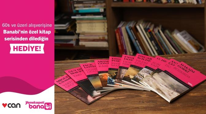 Banabi ve Can Yayınları'ndan ortak kampanya