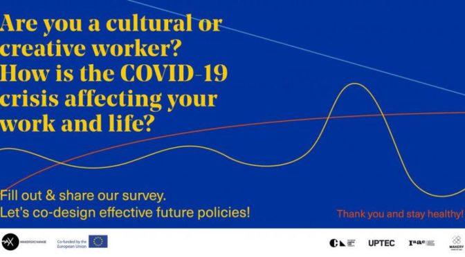 Avrupa Yaratıcı Platformlar Ağı'ndan COVID-19 krizi ve yaratıcı sektör çalışanları ile ilgili araştırma