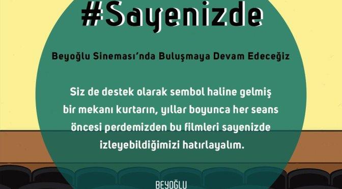 Beyoğlu Sineması'ndan fon toplama kampanyası