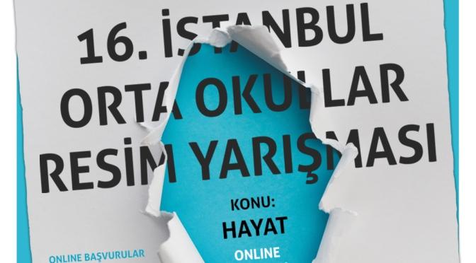 Doğançay Müzesi'nden İstanbul'daki orta okul öğrencileri için 16. Resim Yarışması