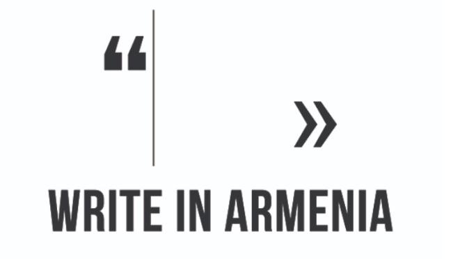 Ermenistan ve Türkiye'den genç yazarlar için uluslararası yazı kampı
